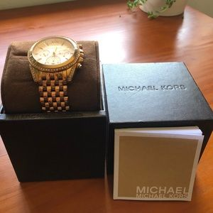 Michael Kors Pressley Chronograph Ladie's Watch